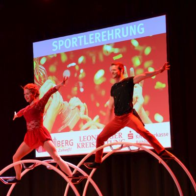 "Sportlerehrung 2019 - Rahmenprogramm ""Wheel-Sensation"""