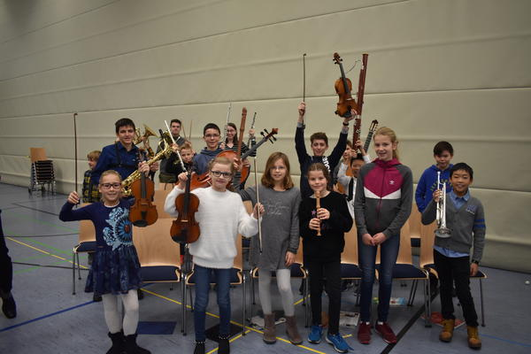 Jugendmusikschule on Tour - Kinderkonzert November 2019